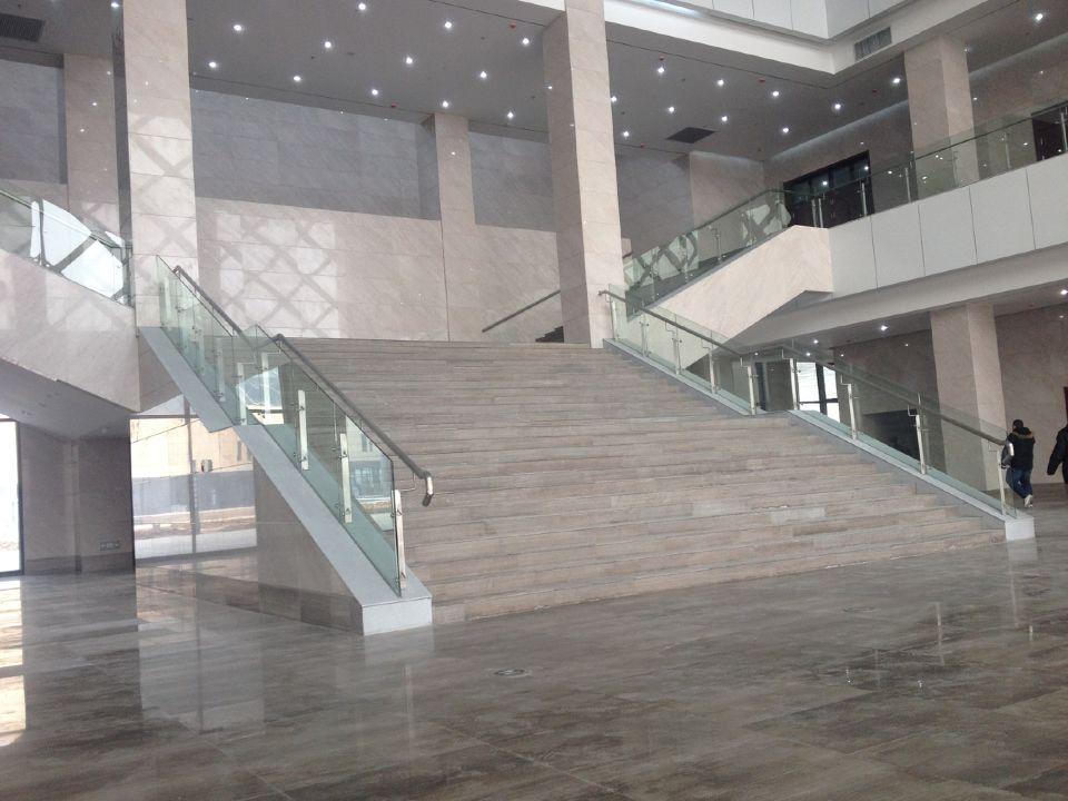 滨州市文化中心艺术馆大堂精装修工程